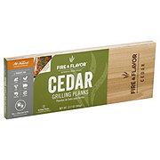 Fire & Flavor Large Cedar Grilling Planks