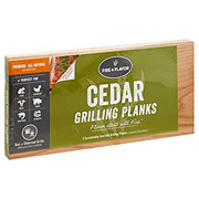Fire & Flavor Medium Cedar Grilling Planks