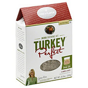 Fire & Flavor Turkey Perfect Herb Brine Kit