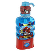Firefly Spiderman Pump No Spill Mouthwash, Red