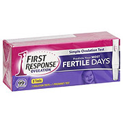 First Response Ovulation Plus Pregnancy Test