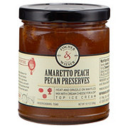 Fischer & Wieser Amaretto Peach Pecan Preserves