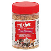 Fisher Mixed Nut Variety Nut Topping