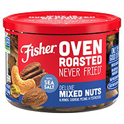 Fisher Oven Roasted Deluxe Mixed Nuts