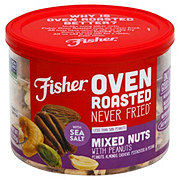 Fisher Oven Roasted Deluxe Mixed Nuts ‑ Shop Nuts & Seeds at