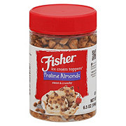Fisher Praline Almonds Ice Cream Toppers
