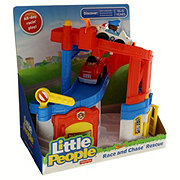 Fisher-Price Little Peoples Race And Chase Rescue Playset