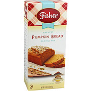 Fisher Pumpkin Bread Mix