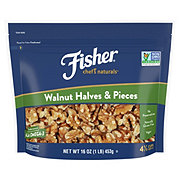 Fisher Walnuts Halves and Pieces