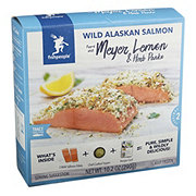 Fishpeople Wild Alaskan Salmon Topped with Meyer Lemon and Herb Panko