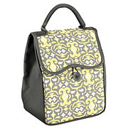 Fit & Fresh Chelsea Bag Yellow Gray With Ice Pack