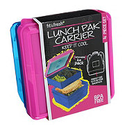 Fit & Fresh Lunch Pak Carrier Set, Assorted Colors