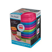 Fit and Fresh Mix & Match Container Set