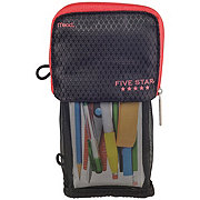 FIVE STAR Stand 'N Store Pencil Pouch, Assorted Colors