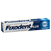 Fixodent Plus True Feel Denture Adhesive Cream