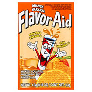 Flavor Aid Orange Drink Mix