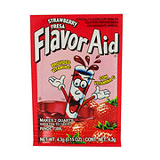 Flavor Aid Unsweetened Strawberry Drink Mix
