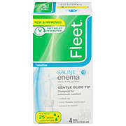 Fleet Enema Saline Laxative 4 pk