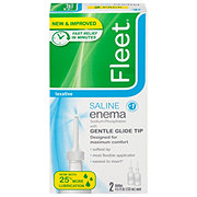 Fleet Enema Saline Laxative Twin Pack