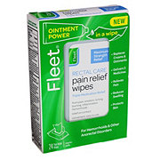Fleet Rectal Care Pain Relief Wipes
