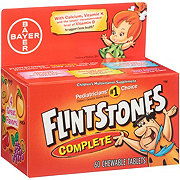Flintstones Children's Complete Multivitamin Chewable Tablets