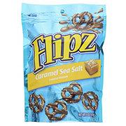 Flipz Caramel Sea Salt Chocolate Covered Pretzels