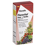 Floradix Floravital Iron + Herbs Liquid Extract Formula