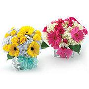 Floral Baby Cube Arrangement - Standard