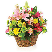 Floral Basket of Simple Beauty - Standard
