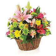 Floral Basket of Simple Beauty - Standard