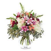 Floral Blushing Love