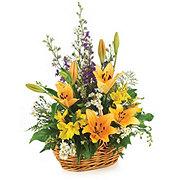 Floral Garden Basket - Designer