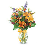 Floral Mixed Garden Blooms - Traditional
