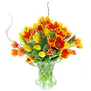 Floral Premium Tulips In A Twitst