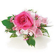Floral Single Rose Corsage - Designer