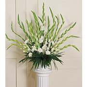 Floral Traditional Gladiola Basket Arrangement
