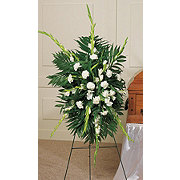 Floral Traditional Gladiola Standing Easel Spray