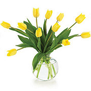 Floral Traditional Tulips in a Twist