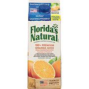 Florida's Natural Premium No Pulp 100% Orange Juice