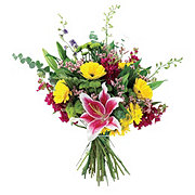 Flowers By Design Handtied  Traditional Brilliant Blooms