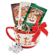 Flowers By Design Hot Cocoa with Rudolph Mug