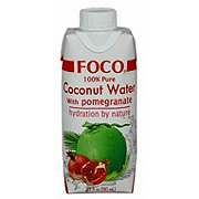 Foco Cocount Water With Pomegranate