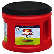 Folgers 1/2 Caff Medium Roast Ground Coffee