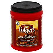 Folgers 100% Colombian Ground Medium-Dark Coffee