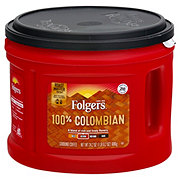 Folgers 100% Colombian Medium-Dark Roast Ground Coffee