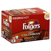 Folgers 100% Colombian Medium -Dark Roast Single Serve Coffee K Cups