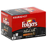 Folgers Black Silk Dark Roast Single Serve Coffee K Cups