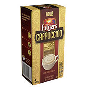 Folgers Cappuccino Mocha Chocolate Instant Coffee Mix