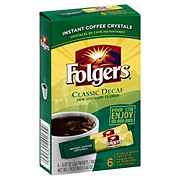 Folgers Classic Decaf Single Serve Coffee Packets