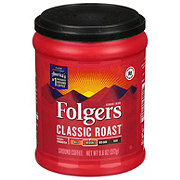 Folgers Classic Roast Medium Roast Ground Coffee